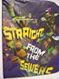 Teenage Mutant Ninja Turtles Stretchable Fabric Book Cover ~ Straight From the Sewers! (Fits Books Larger than 10 x 8) by Innovative Design 101