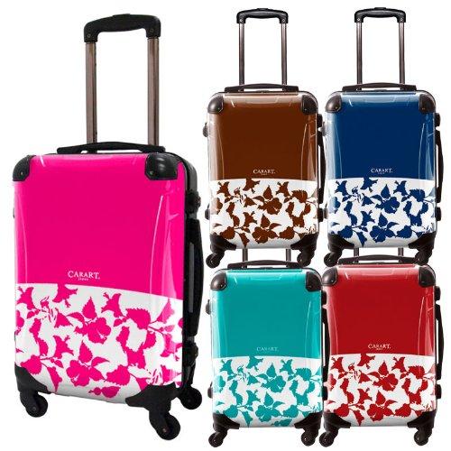 ピポパスーツケース/ベーシック/フレーム4輪/TSAロック/機内持込可能/キャラート/スカイブルー エメラルド ピンク オレンジ ダークブラウン ネイビー ブラウン/CRA01-006KO