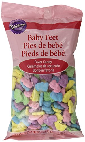 Wilton 1006-9047 Baby Feet Favor Candy, 12-Ounce - 1