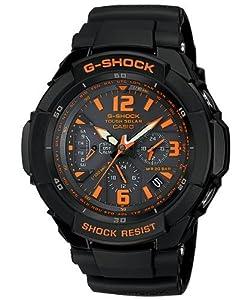 G-Shock Tough Solar Gravity Defier Black Dial Men's watch #G-1200B-1A