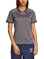 Hummel Camiseta de Fútbol Stay Authentic Poly (Gris Oscuro)