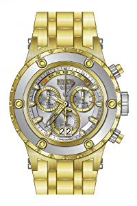 Invicta Men's 80486 Subaqua Quartz Chronograph Antique Silver Dial Watch