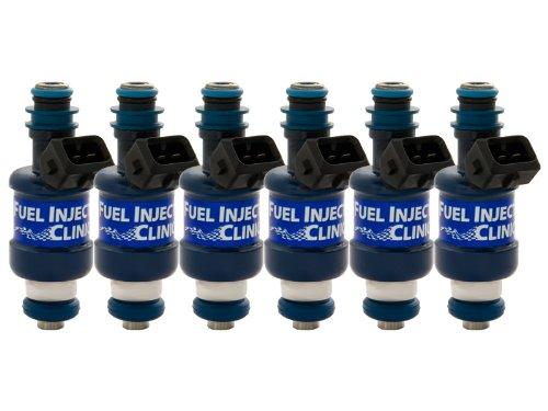 FIC IS185-1250 1250cc Nissan Skyline RB26 BlueMax Fuel Injector Clinic Set Low-Z