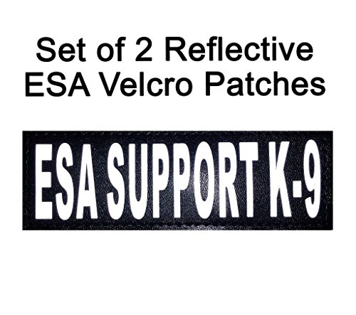 "Set of 2 Reflective ""ESA"