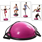 Giantex Ball Balance Trainer Yoga Fitness Strength Exercise Workout W/pump