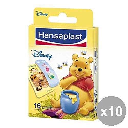 Set 10 HANSAPLAST WINNI POOH * 16 Pezzi 47768 Bandagen und Körperpflege