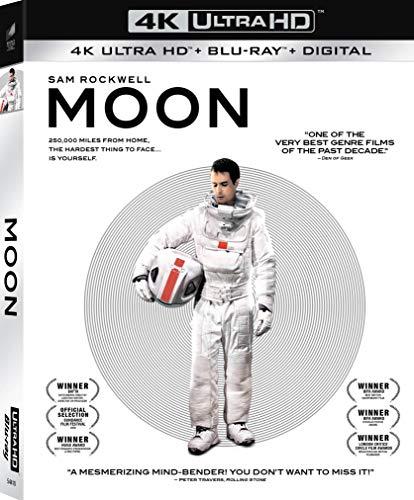 4K Blu-ray : Moon (2 Discos)