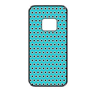 Vibhar printed case back cover for Samsung Galaxy S6 Edge BluPolka