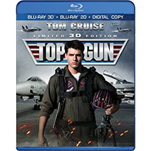Top Gun (Two-Disc Combo: Blu-ray 3D / Blu-ray / Dig... by Top Gun