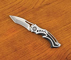 STAINLESS STEEL NINJA STYLE FOLDING KNIFE