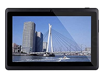 Dragon Touch Y88X 7'' Quad Core Google Android 4.4 KitKat Tablet PC, Dual Camera, HD 1024x600 Multi-touch Screen, 8GB Nand Flash, Google Play & Zoodles Pre-load, 3D Game Supported (Advanced version of Y88) [By TabletExpress]