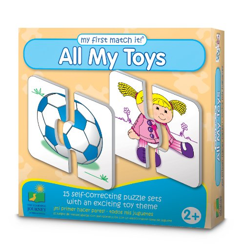 The Learning Journey My First Match It! - All My Toys - 1