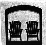 Wrought Iron Chairs Napkin Holder