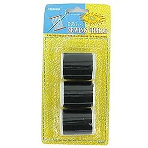 Amazon 72 Black Sewing Thread Set