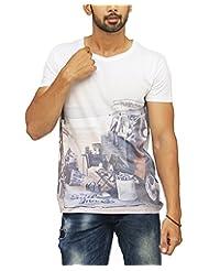 ORIGINAL VARSITY LEAGUE Men's Poly Cotton Slim Fit T-Shirt