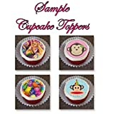 12 EDIBLE Disney Frozen Cupcake Toppers or Cookie Toppers Edible Image for Birthday Party