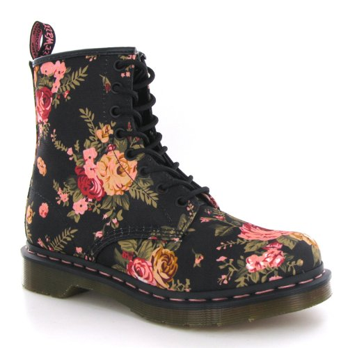 Dr.Martens 1460 Victorian Flowers Womens Boots Size 8 US