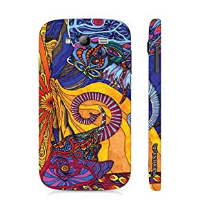 Samsung Galaxy Grand Abstract Elephants designer mobile hard shell case by Enthopia