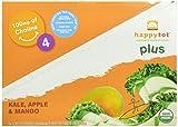 Happy Tot Organic Toddler Food Plus, Kale Apple & Mango, 4.22 Ounce (Pack of 16)