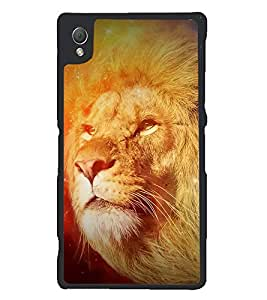 PRINTSWAG LION Designer Back Cover Case for SONY XPERIA Z3