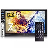 XOMAX-XM-2VRSUN731BT-Autoradio-Moniceiver-Naviceiver-mit-GPS-Navigation-NAVI-Software-inkl-Europa-Karten-Bluetooth-Freisprechfunktion-Musikwiedergabe-7-Zoll-18-cm-Bildschirm-Touchscreen-Display-Audio-