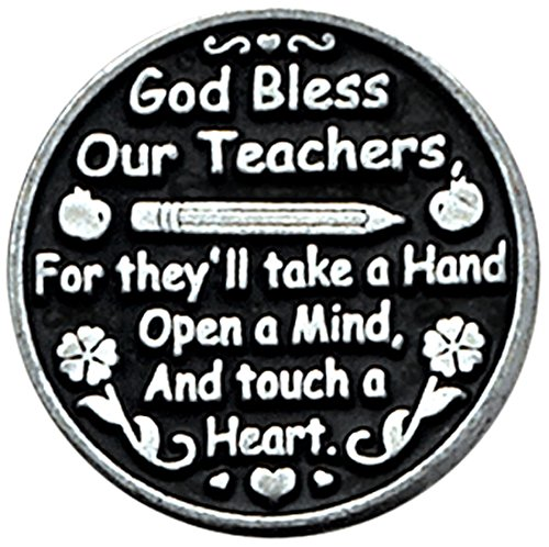 Cathedral Art PT132 Teacher Pocket Token, 1-Inch