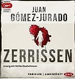 Zerrissen: Ungekürzte Lesung mit Heikko Deutschmann (2 mp3-CDs)