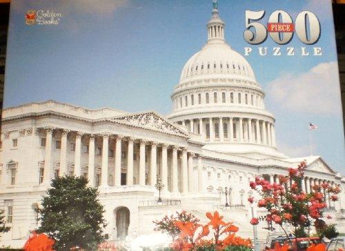 "Golden Books 500 Piece Puzzle - ""United States Capitol"""