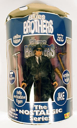 """Limited Edition """"Jake"""" Blues Brothers Action Figure,The Nostalgic Series - #01678 0f 50,000"""