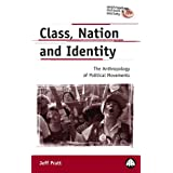 Class, Nation and Identity: The Anthropology of Political Movements (Anthropology, Culture and Society)by Jeff Pratt