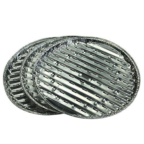 Campingaz Aluminium Grillpfannen - Einweggrillpfannen aus Aluminium, 33x1,5cm