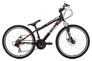 Hardtail Dirt Mountain Bike26 InchDirrt Black KS Cycling