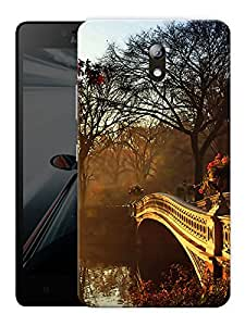 """A Bridge To Cross Printed Designer Mobile Back Cover For """"Lenovo Vibe P1m"""" By Humor Gang (3D, Matte Finish, Premium Quality, Protective Snap On Slim Hard Phone Case, Multi Color)"""