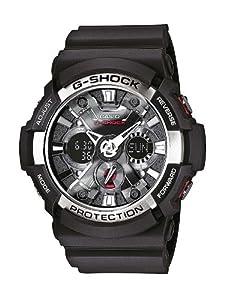 Casio GA-200-1AER G-Shock Men's Analogue Digital Watch with Resin