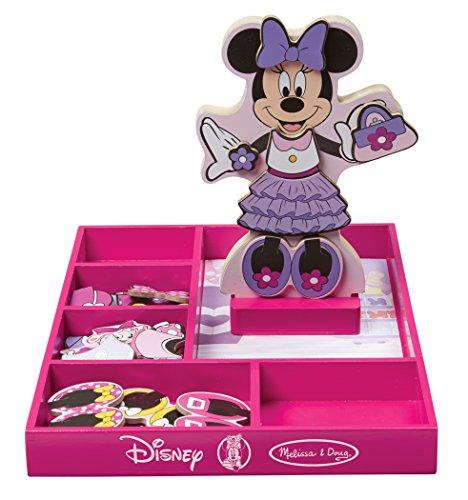 Melissa Amp Doug Disney Minnie Mouse Magnetic Dress Up