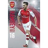 Arsenal アーセナル 2014-15モデル アーロン ラムジー ポスター / SP1139