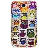 [Casemaster] Samsung Galaxy Note2 N7100 Kleine Eule Owl Schutz-Hülle TPU Case Schale Cover (1#)