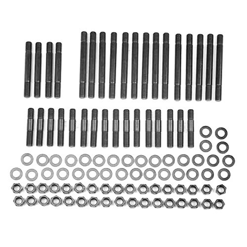 ARP 235-4601 Pro Series Black Oxide 12-Point Cylinder Head Stud Kit for Big Block Chevy Mark IV with Under Cut Aluminum Factory//Early Bowtie Head