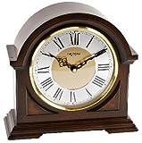 Luxus Holz Glockenton Tischuhr - Bogendesign - Westminster Glockenschlag