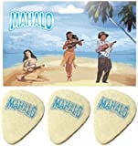 Mahalo FP32 Felt Picks, Pack of 3