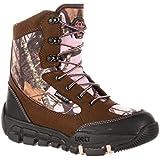 Rocky RKS0145IA Womens Pink/Camo Waterproof Insulated Outdoor Hunting Boot