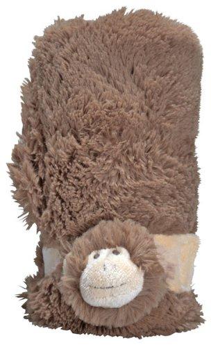 Pickles Mon Ami Miller Monkey Baby Stroller Blanket