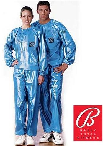 Sauna Exercise Suit By Bally Total Fitness