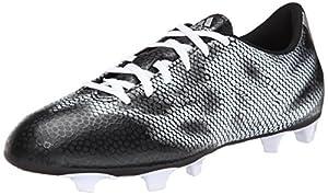 adidas Performance Men's F5 Fg Soccer Firm Ground Cleat, Core Black/Metallic/Silver/Metallic/Silver, 11.5 M US