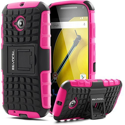 evocel-moto-e-2nd-gen-case-heavy-duty-armor-case-with-stand-2015-release-cricket-boost-mobile-sprint