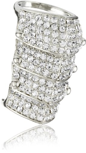 RAIN Silver-Tone Knuckle Ring, Size 6