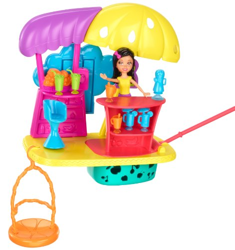 Polly Pocket Wall Party Juice Bar Playset Amazon.com