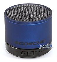 SCOSCHE BTSPK1BL Portable Bluetooth Wireless Media Speaker