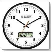Atomic Radio Controlled Time Wall Clock