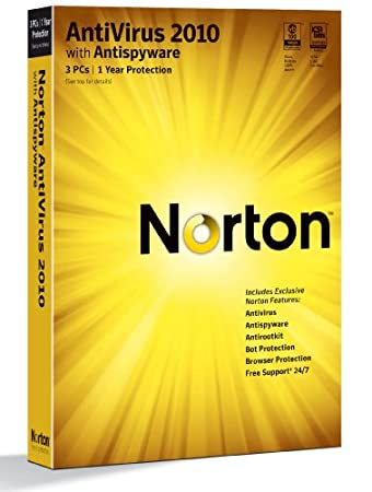 Norton Anti-virus 2010 1 user